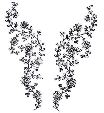 List of Synonyms and Antonyms of the Word: hand embroidery patterns
