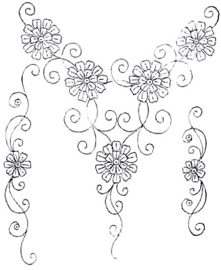 More Free Hand Embroidery Patterns Pintangle