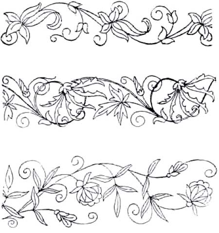 photo about Free Printable Embroidery Patterns known as Free of charge Hand Embroidery Types - Pintangle