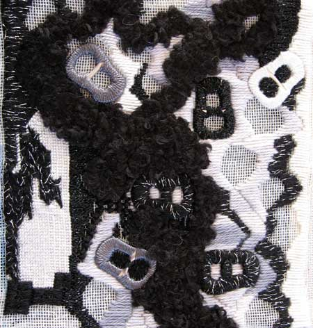 section of sampler using ring pulls