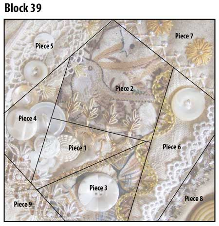 crazy quilt block pattern