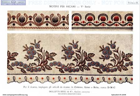 ANTIQUE PATTERNS LIBRARY   FREE Knitting PATTERNS