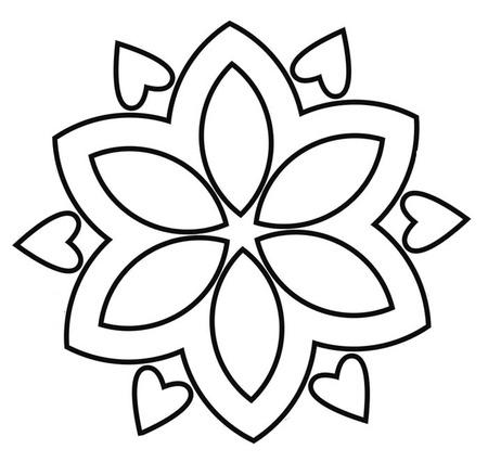 mandala worksheets