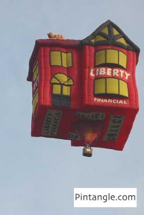Hot air balloon Liberty