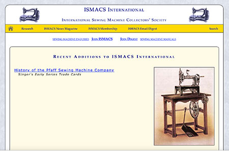 International Sewing Machine Collectors' Society