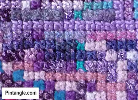 Sorbello Stitch sample 2