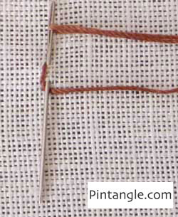 Waved Chain Stitch Tutorial