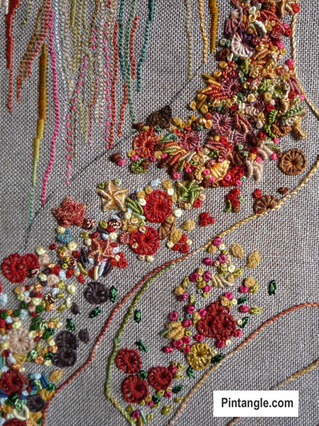 From Studio Journal Design To Embroidery A Hand Embroidered File