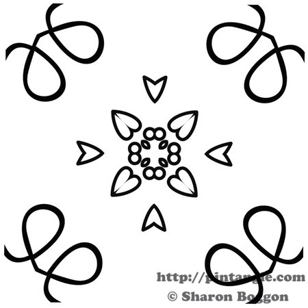 Free hand embroidery patterns from Sharon B