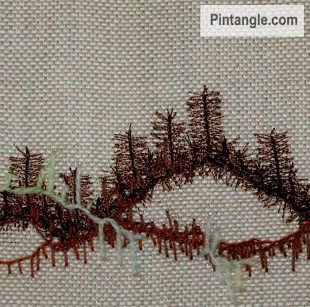 buttonhole stitch sample 10
