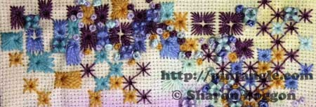 For the love of Stitching sampler band 530