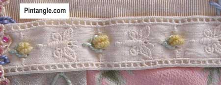 Fly stitch sample 5