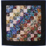 I dropped the button box crazy quilt by sharon boggon