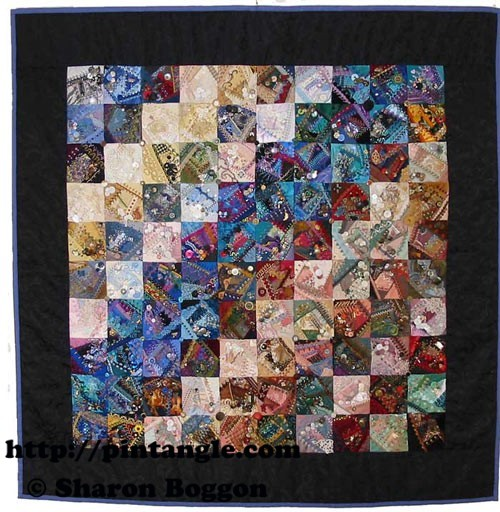 I dropped the button box quilt