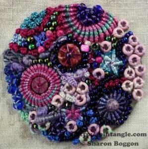 sampler of stitching