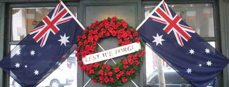 ANZAC day decoration