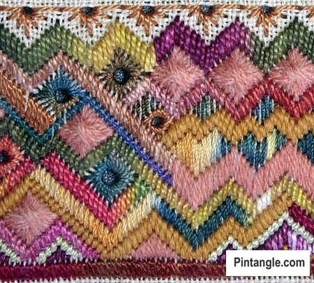 Satin Stitch sample 4