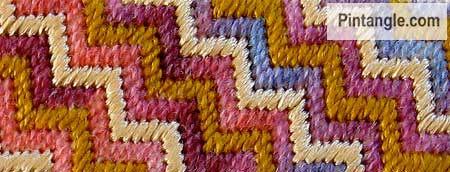Satin Stitch sample 8