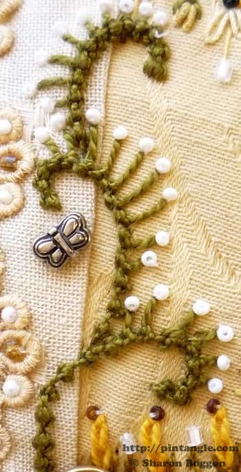 How to Hand Embroider Palestrina Stitch