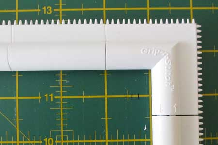 Grip-n-Stitch embroidery frame review - teeth