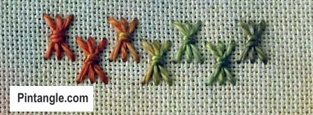 Sheaf Stitch Sample1