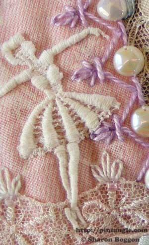 Crazy Quilt Detail 415