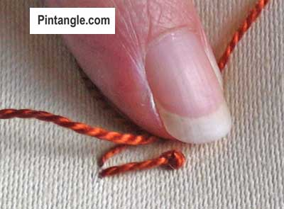 step by step tutorial for pistil stitch 3