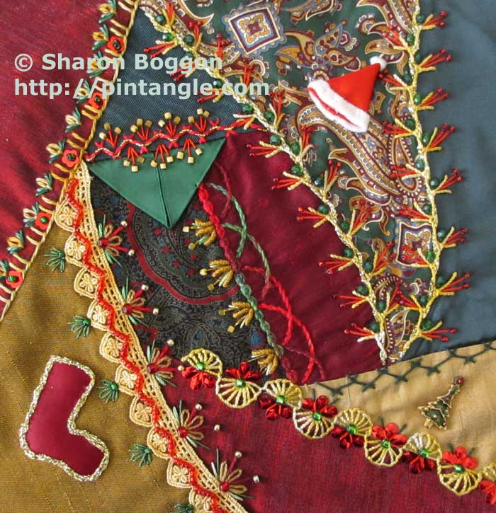 Crazy Quilt Journal Project Archives - Pintangle