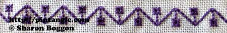 For the Love of Stitching Sample 594
