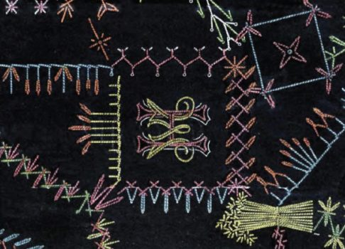 Free ebook of Vintage Crazy Quilt Embroidery Patterns