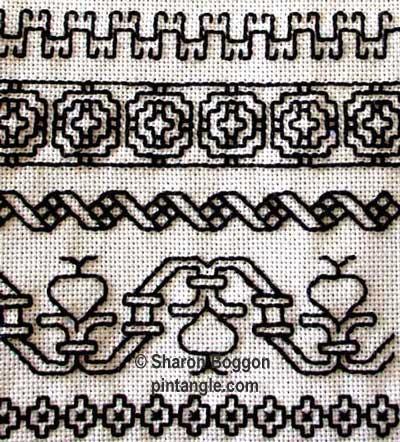 mourning memorial needlework sampler
