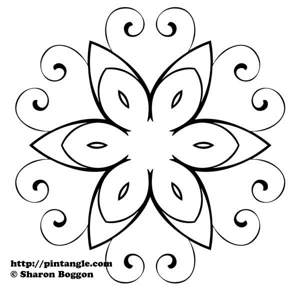 Embroidery Pattern Design 29 Pintangle
