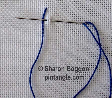 How to hand embroider Sailors stitch