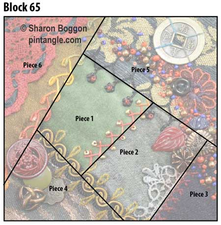 free crazy quilt block pattern