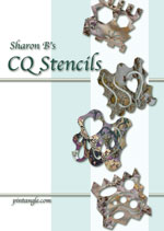 ebook cover Sharon B's CQ Stencils