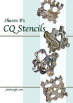 ebook cover Sharon B's CQ Stencils
