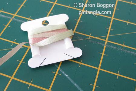 silk ribbon crease free 4
