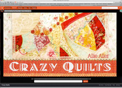 Crazy Quilts with Allie Aller