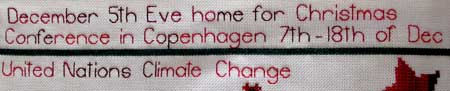 Detail 626 on the For love of Stitching Band Sampler