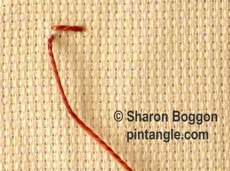 Siennese Stitch Step By Step Tutorial