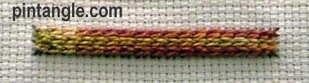 Raised Chain Stitch Version 2