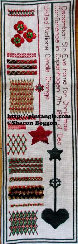 needlework sampler phototgraph