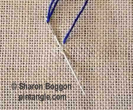 How to Hand Embroider Spiked Knotted Cable Chain Stitch