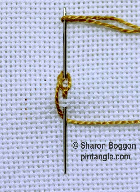 Linked Chain stitch 5