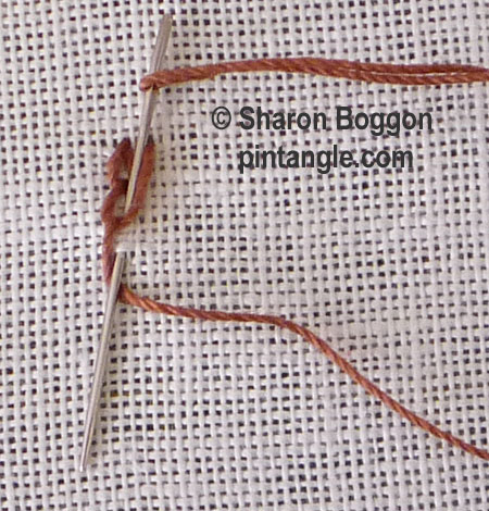 shell chain stitch 4