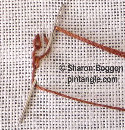 shell chain stitch 5