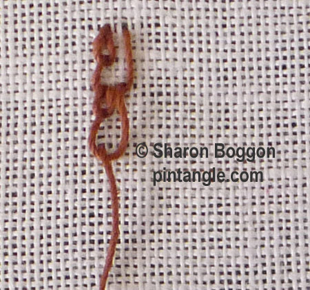 shell chain stitch 6