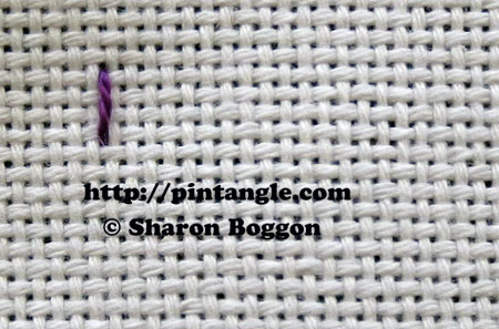 Beaded Eastern Stitch 1