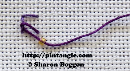 Beaded Eastern Stitch 3