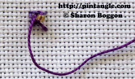 Beaded Eastern Stitch 4
